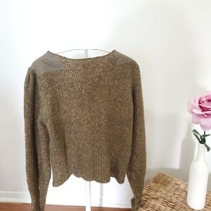 Free People Sweaters - FREE PEOPLE Crew Neck Long Sleeve Henley Sweater